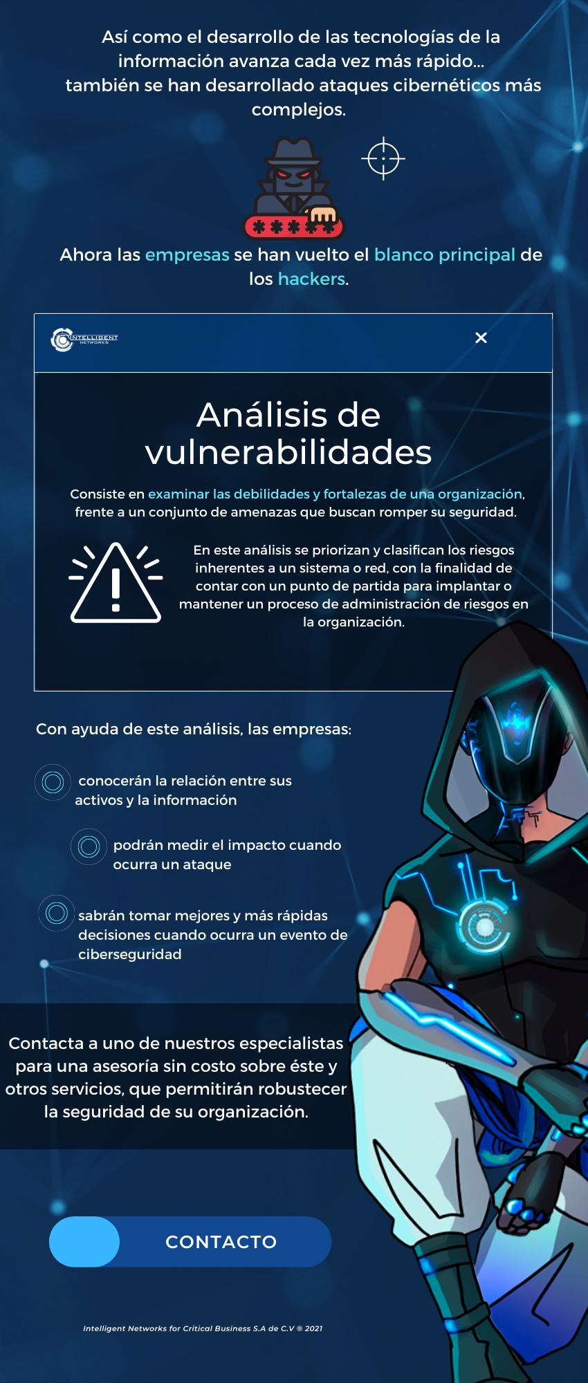 Por qué realizar un análisis de vulnerabilidades en tu empresa